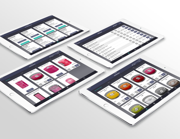 Mosaik Kerzen iPad App