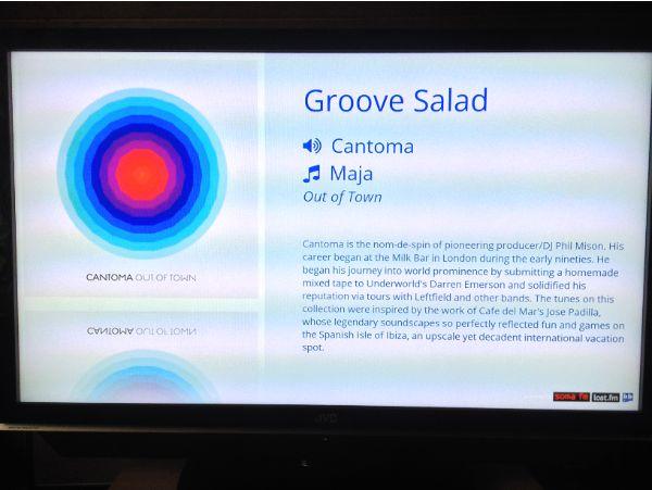 SomaFM Chromecast receiver app